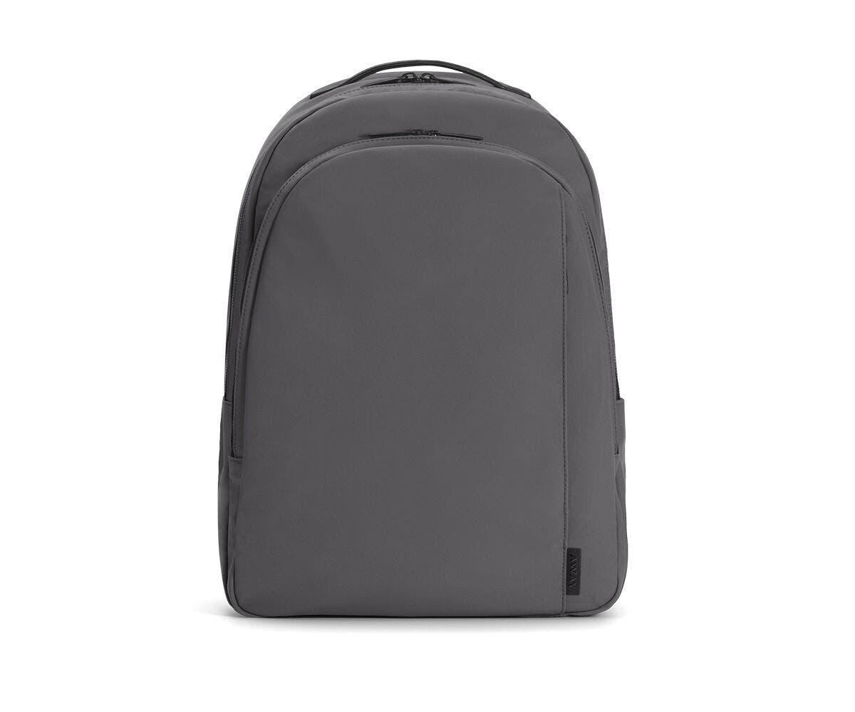 The Backpack in Asphalt Nylon