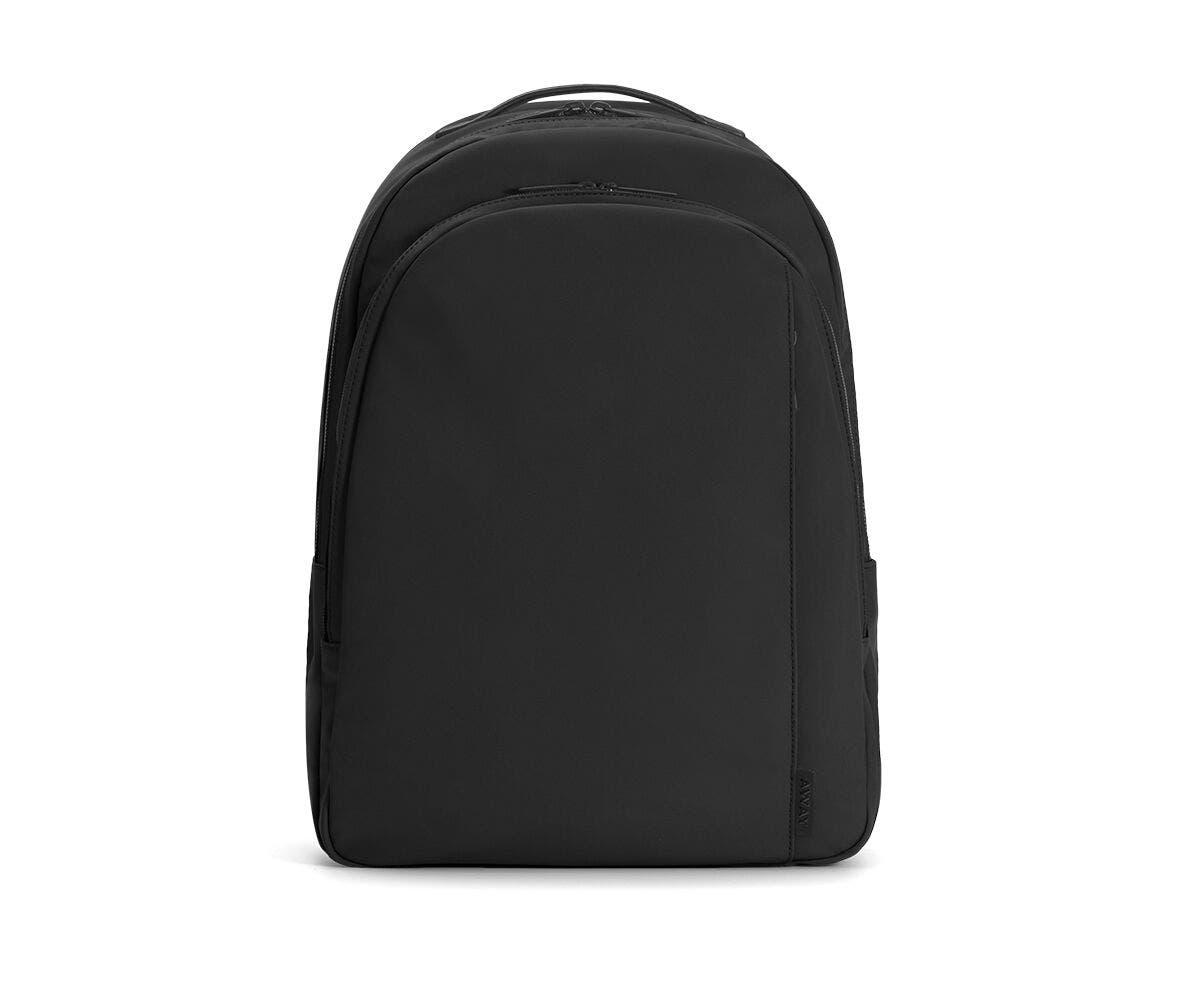 The Backpack in Black Nylon