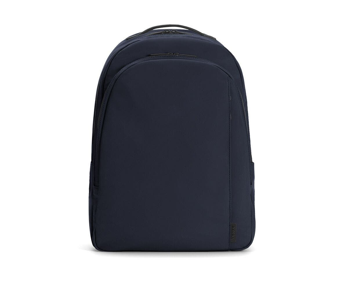 The Backpack in Navy Nylon