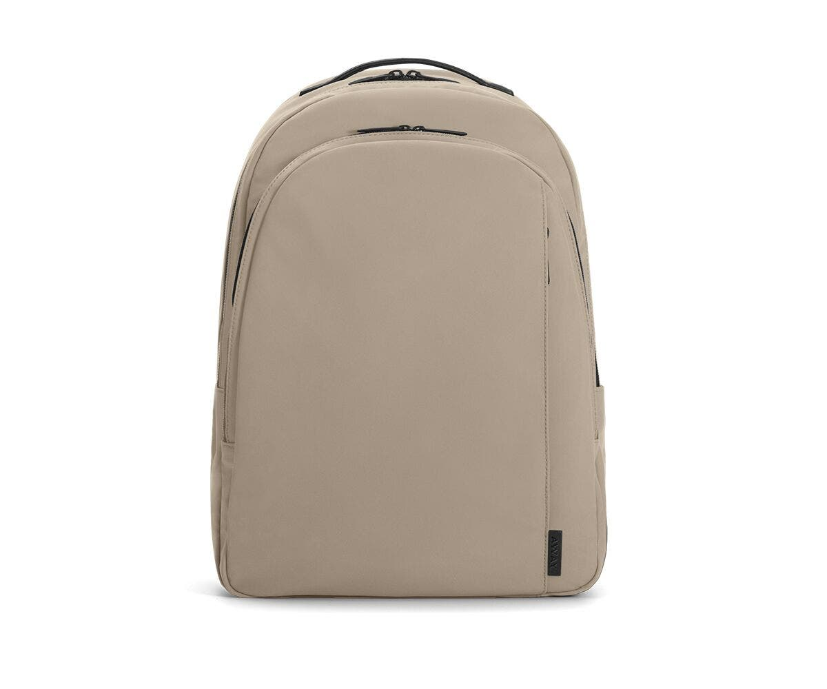 The Backpack in Sand Nylon