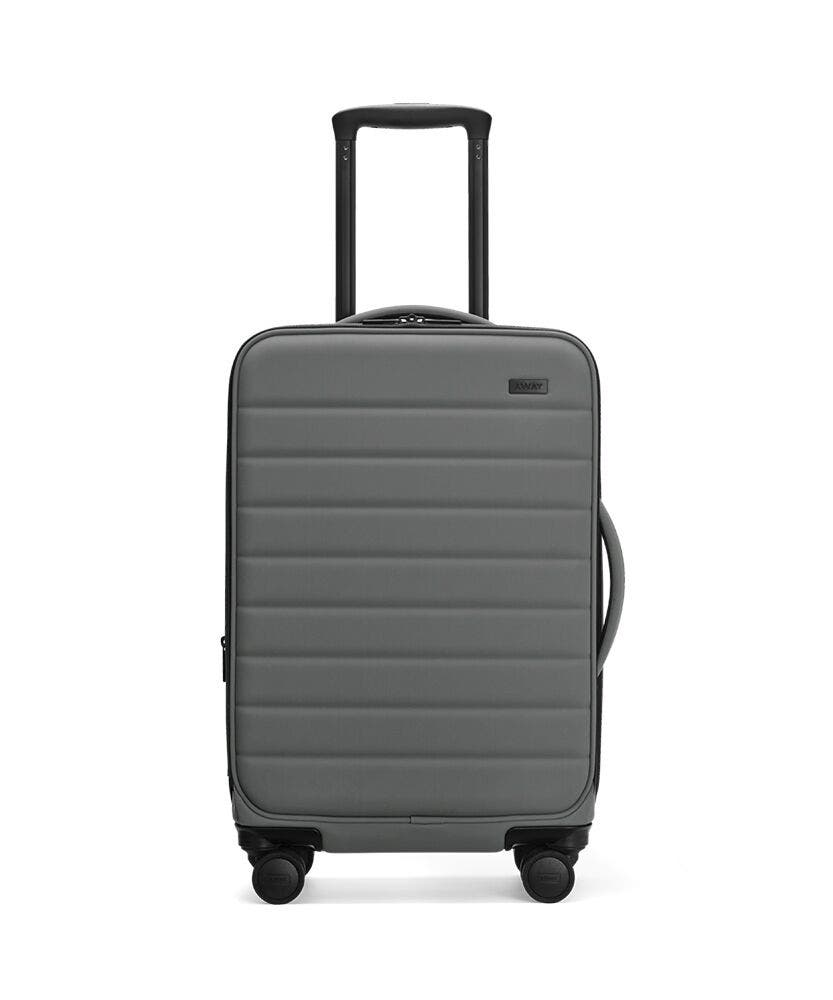 The Expandable Carry-On in Asphalt