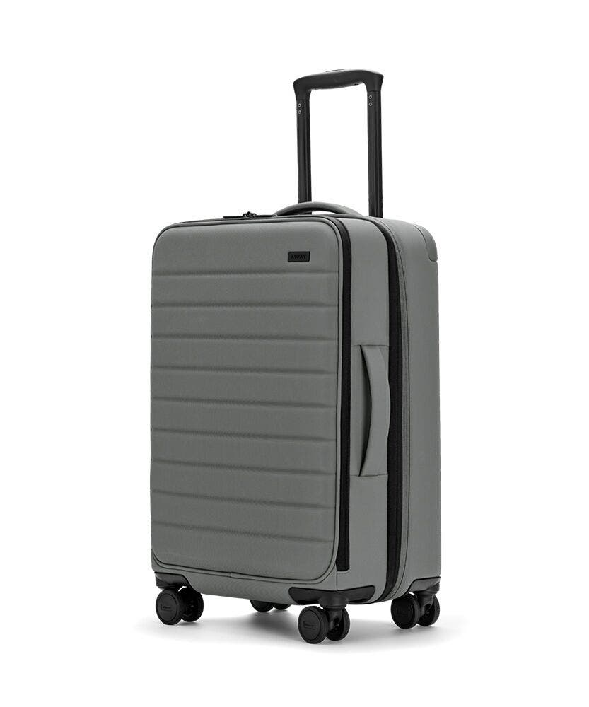 The Expandable Bigger Carry-On in Asphalt