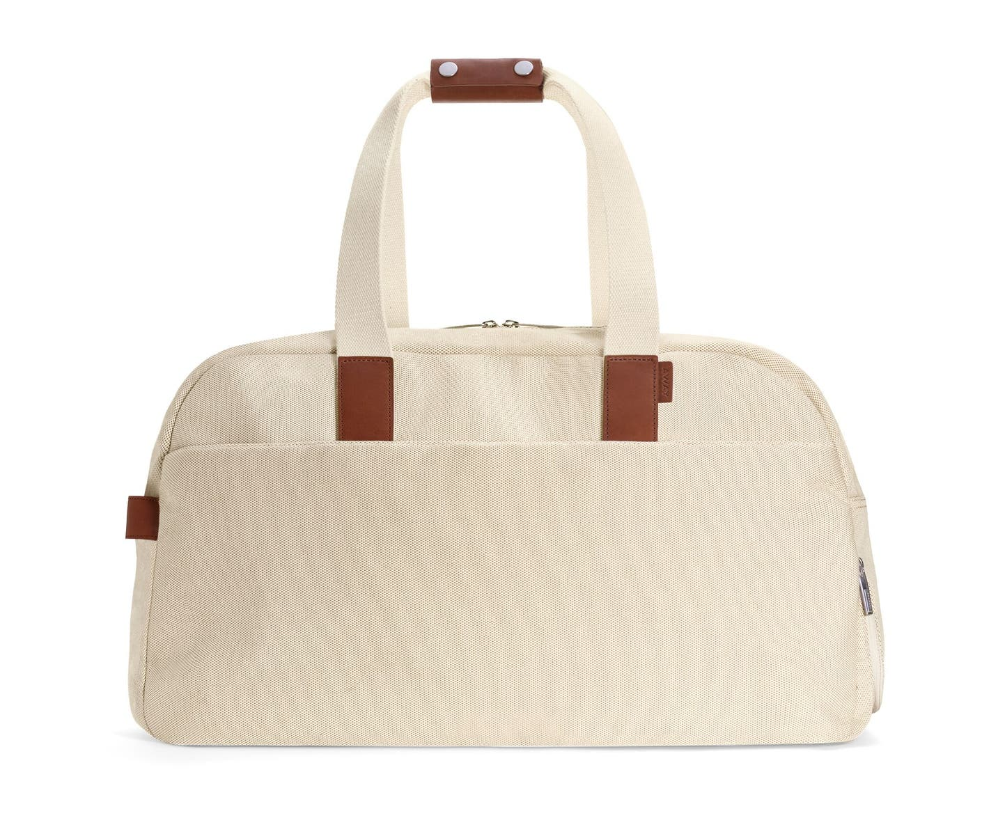The Weekender in Natural canvas