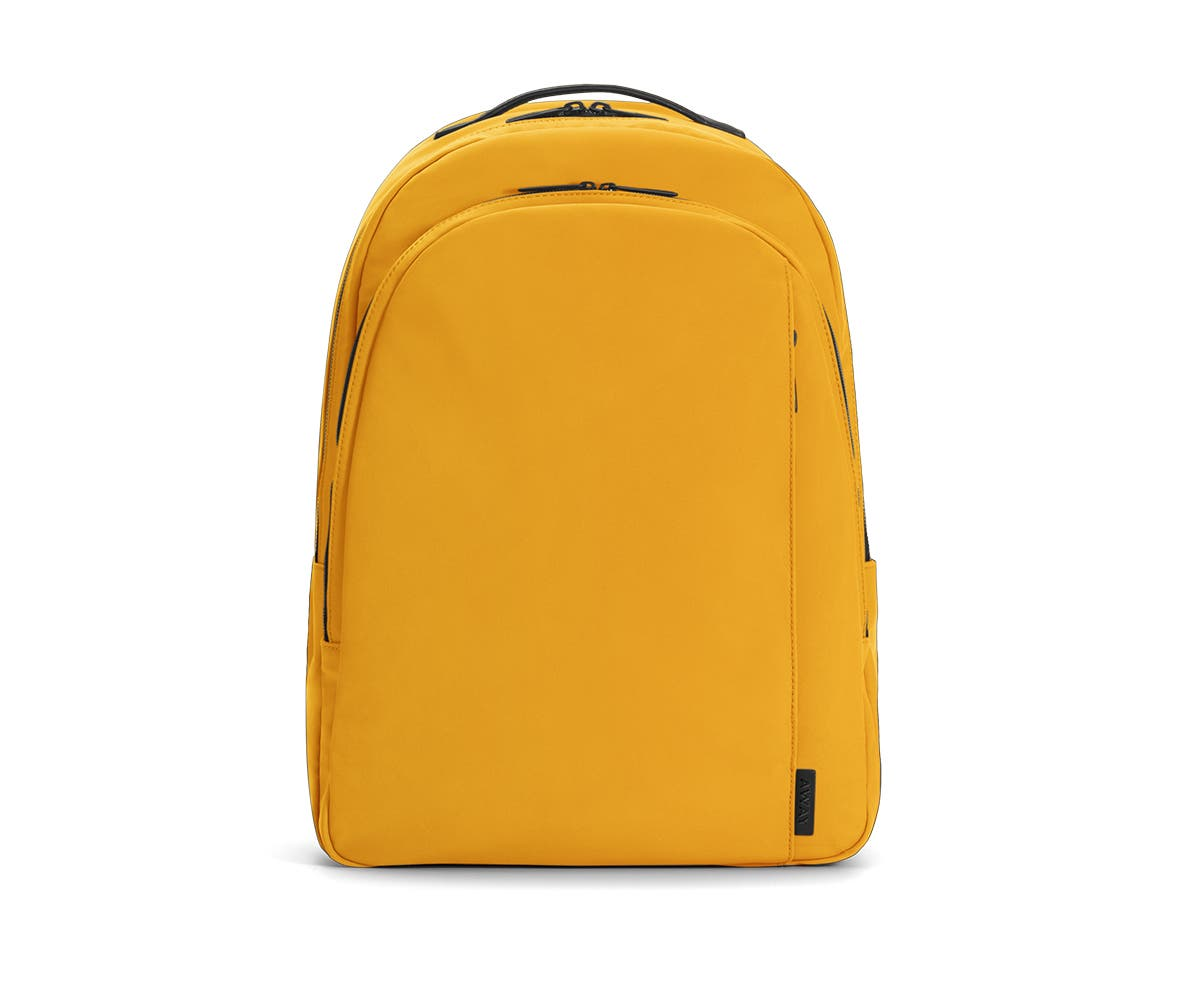 The Backpack in Canary Nylon