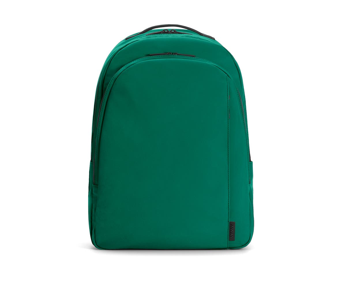 The Backpack in Sea-green Nylon