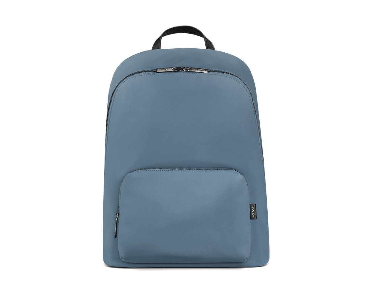 Front of a coast backpack with two pockets one main and one small with zip.