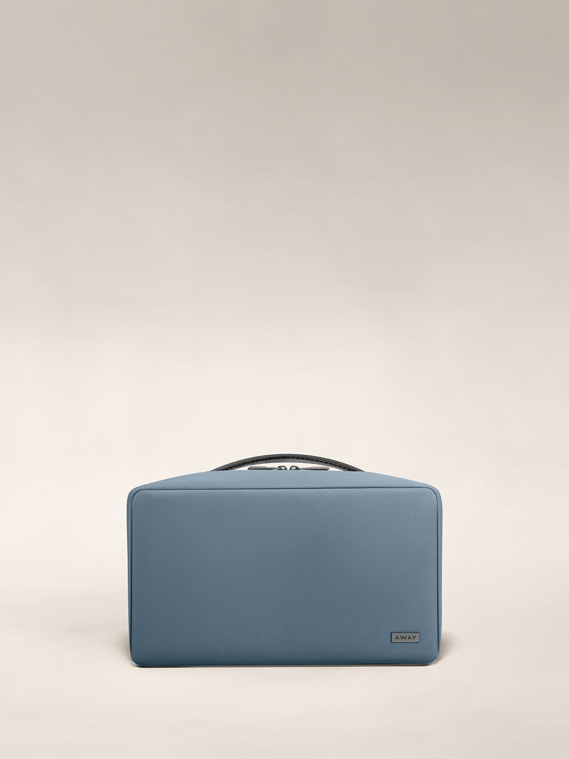 Large travel toiletry bag in the color coast.