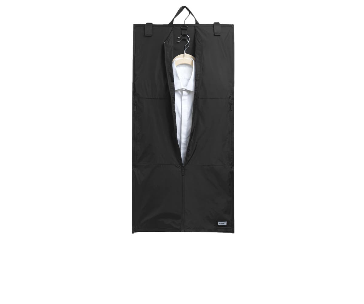 The Centerfold Garment Sleeve (for The Bigger Carry-On) in Black